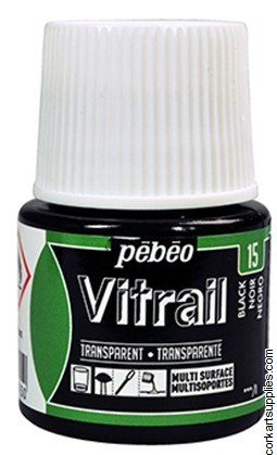 Vitrail 45ml Transparent 15 Black