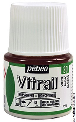 Vitrail 45ml Transparent 20 White