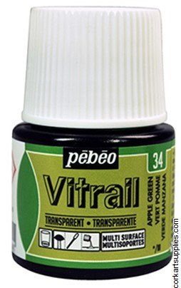 Vitrail 45ml Transparent 34 Green Apple