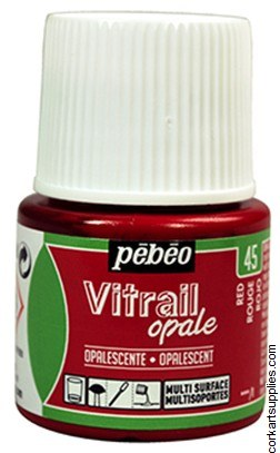 Vitrail 45ml Opalescent Red