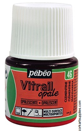 Vitrail 45ml Opalescent Clementine