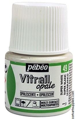 Vitrail 45ml Opalescent White Super