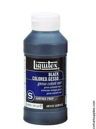 Liquitex Black Acrylic Gesso
