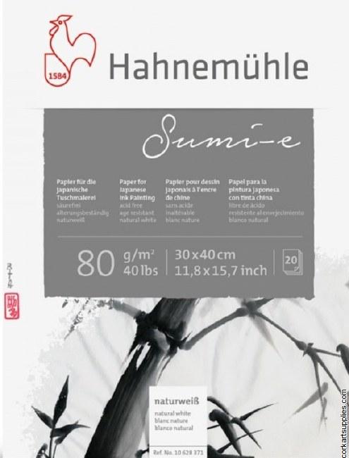 Hahnemuhle 80gm Sumi-e Paper 20sh 30x40cm