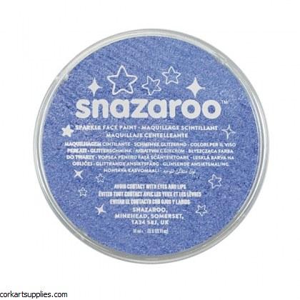 Snazaroo 18ml Sparkle Blue