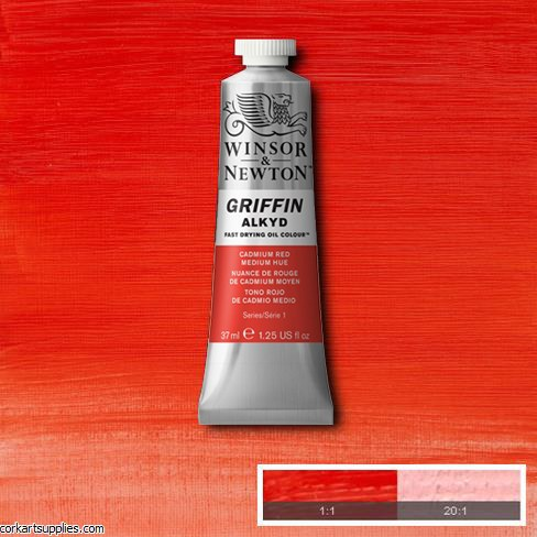 Griffin Alkyd 37ml Cad Red Medium Hue