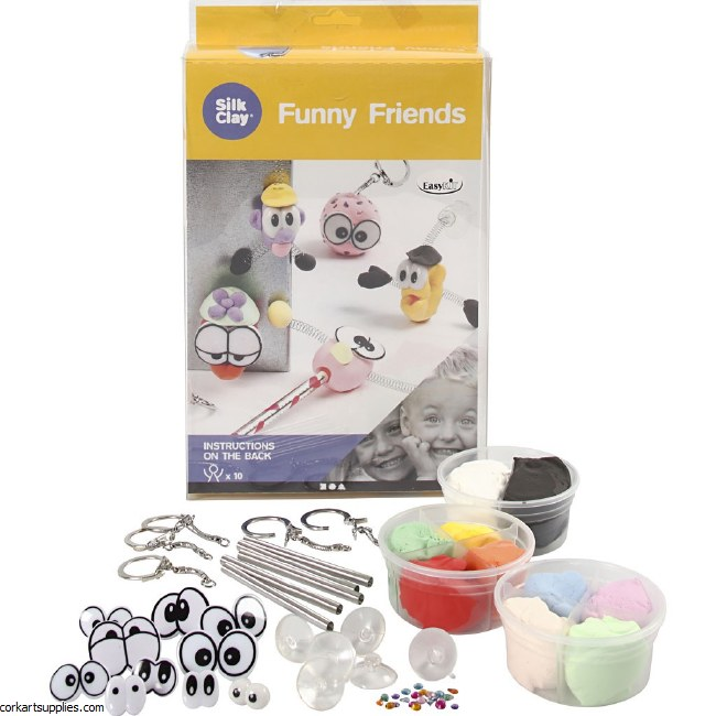 Funny Friends Silk Clay Kit 10pk