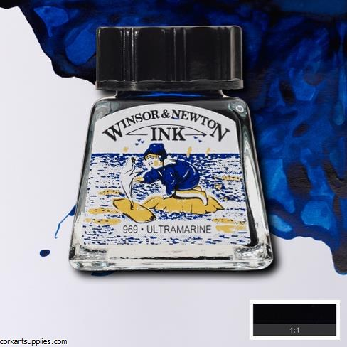 Winsor & Newton Ink 14ml Ultramarine