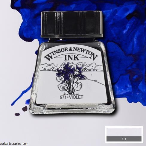 Winsor & Newton Ink 14ml Violet