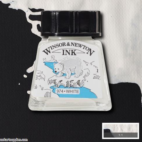 Winsor & Newton Ink 14ml White