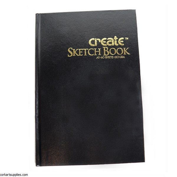 Create A3 Portrait Case Bound Hardback 110gm Cartridge