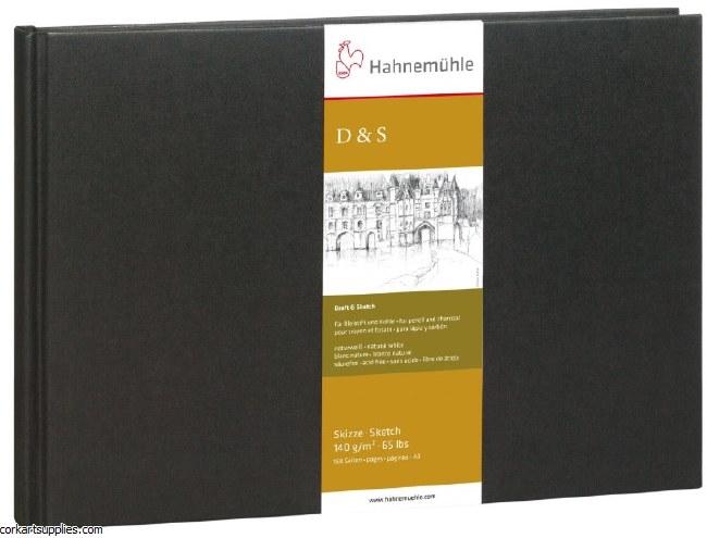 Hahnemuhle 140gm Hardback Pad D&S A3 Landscape