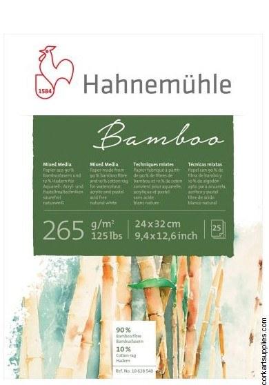 Bamboo Pad 24x32cm Hahnemuhle