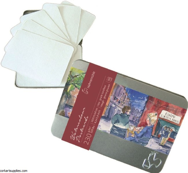 Hahnemuhle 230gm Postcard Tin 30pk