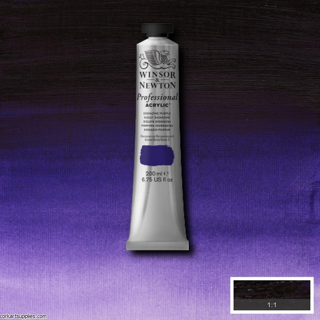Dioxazine Purple 200ml Artists' Acrylic Winsor & Newton