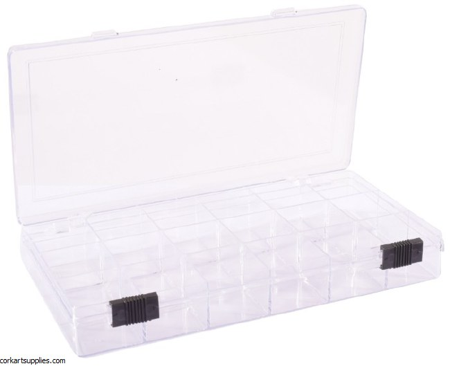 Storage Box W/ 18 Dividers
