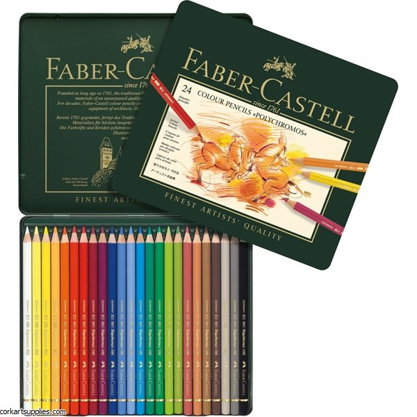 Polychromos Coloured Pencil 24 Pack