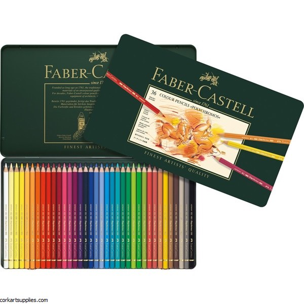 Polychromos Coloured Pencil 36 Pack