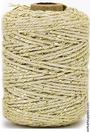 Vivant Cotton Cord Luxe, Gold / Taupe