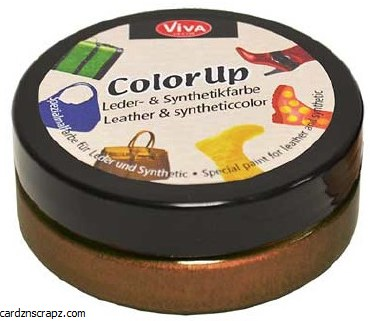 Viva Color Leather 50ml Brown