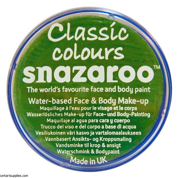 Snazaroo 18ml Bright Green