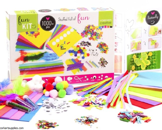 Fun Craft Kit 1000pk