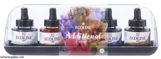 Ecoline Inks 30ml Addtinal 5pk