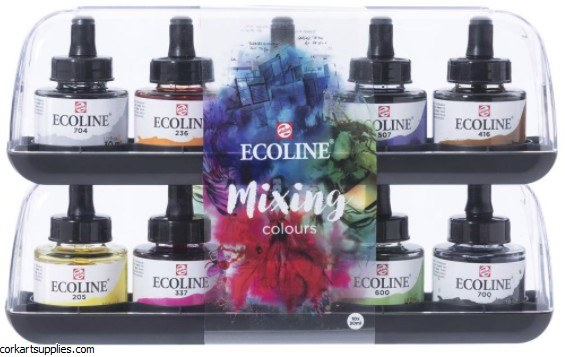 Ecoline Inks 30ml Mixing 10pk