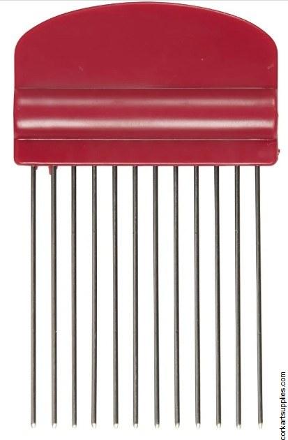 Quilling Comb L: 10,5 cm, W: 6