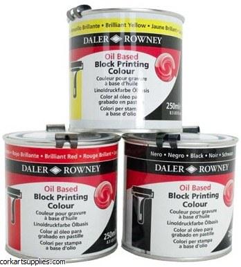 Oil Block Printing 250ml Black