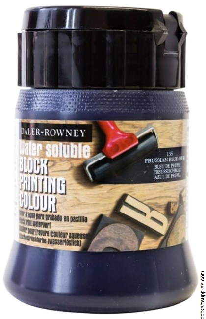 Block Printing Ink 250ml Daler Prussian Blue