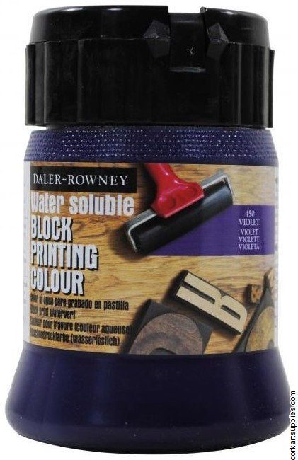 Block Printing Ink 250ml Daler Violet