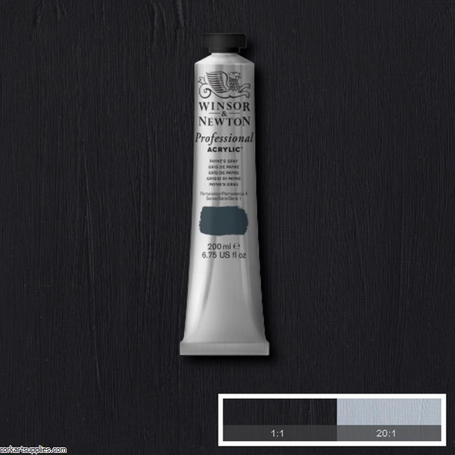 Paynes Grey 200ml Artists' Acrylic Winsor & Newton