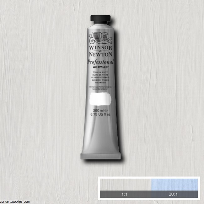 Titanium White 200ml Artists' Acrylic Winsor & Newton