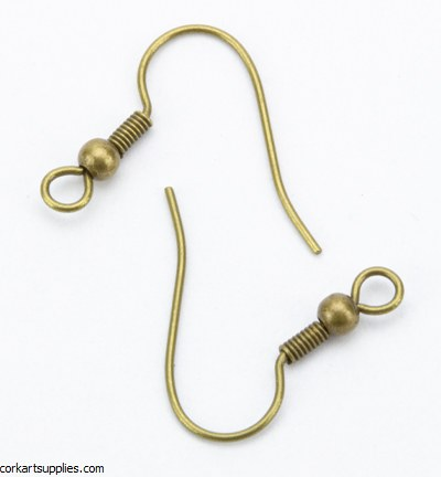 Shepherd hooks 12pk Brass