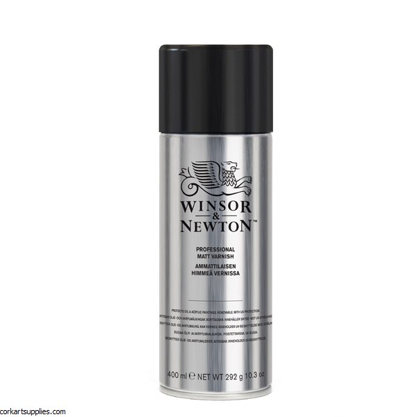 Winsor & Newton Aerosol 400ml Picture Matt Varnish