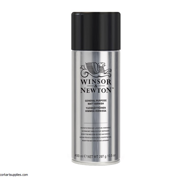 Winsor & Newton Aerosol 400ml All Purpose Matt Varnish