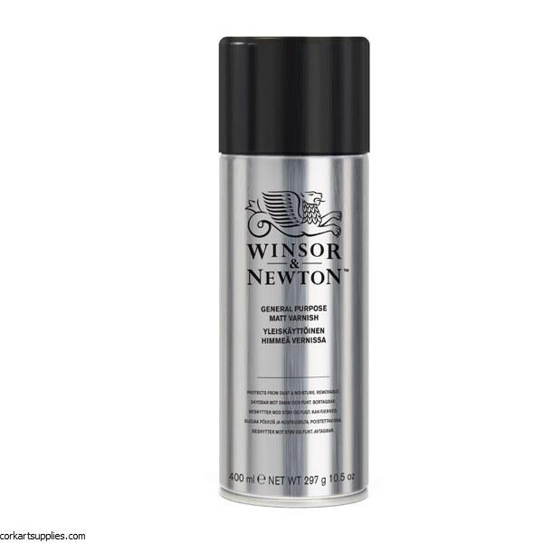 Winsor & Newton Aerosol 400ml All Purpose Matt Varnish