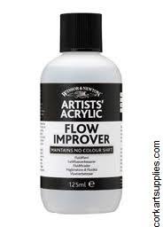 Acrylic Winsor & Newton Flow Improver 125ml