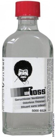 Bob Ross Odourless Thinner 125ml