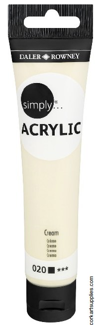 Simply Acrylic 75ml Cream