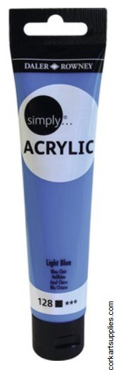 Simply Acrylic 75ml Blue Light
