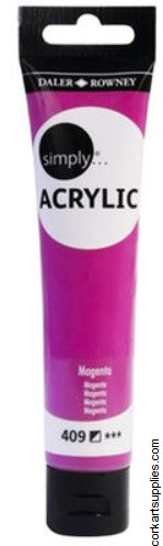 Simply Acrylic 75ml Magenta