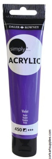 Simply Acrylic 75ml Violet