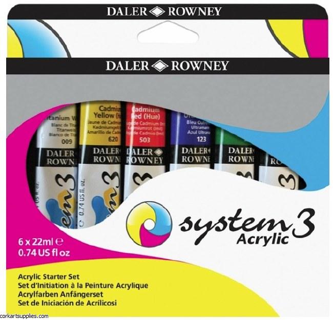 System 3 Set 22ml Starter 6pk