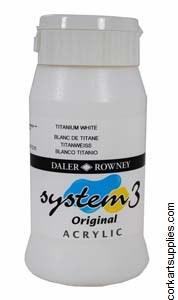 System 3 500ml Titanium White