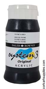 System 3 500ml Paynes Grey