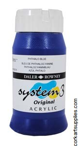 System 3 500ml Phthalo Blue