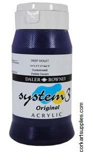 System 3 500ml Deep Violet