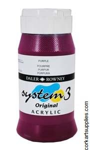System 3 500ml Purple